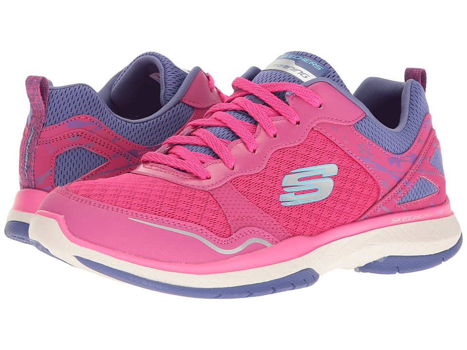 SKECHERS - Burst TR (Pink/Purple) Women's Shoes
