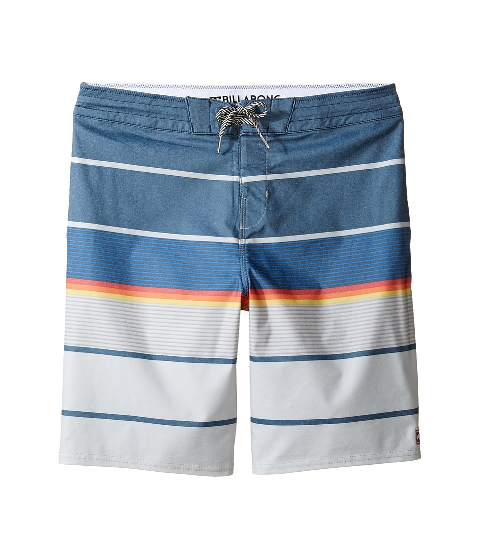 Billabong Kids Spinner LT Boardshorts (Big Kids) (Navy) Boy