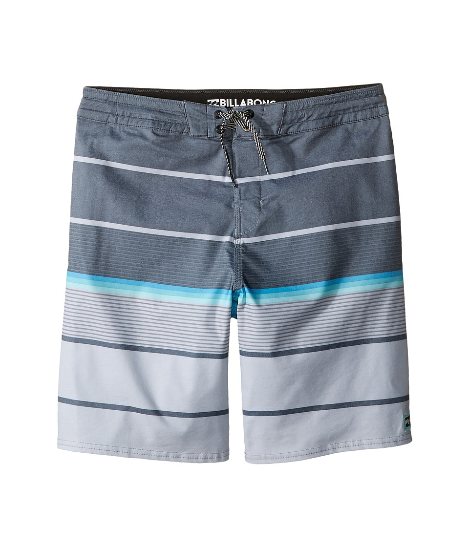 Billabong Kids Spinner LT Boardshorts (Big Kids) (Charcoal) Boy