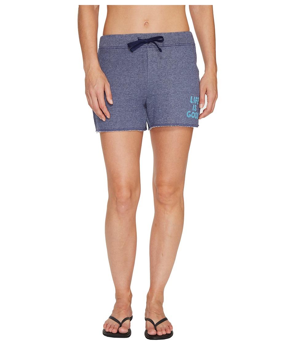 Life is Good - Beachy Short (Darkest Blue) Women's Shorts