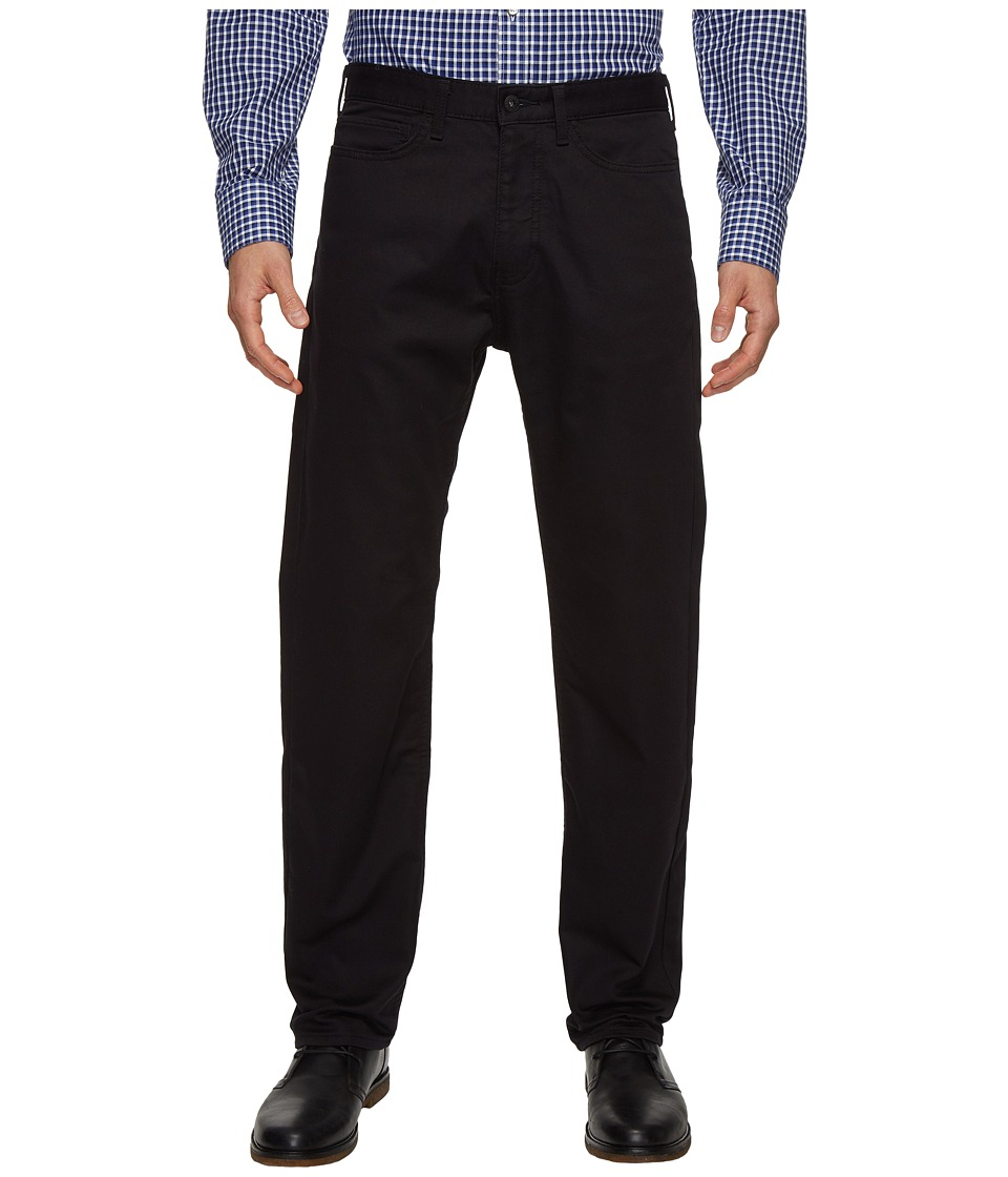 Dockers Men's - Five-Pocket Straight Knit (Black Knit Like) Men's Casual Pants
