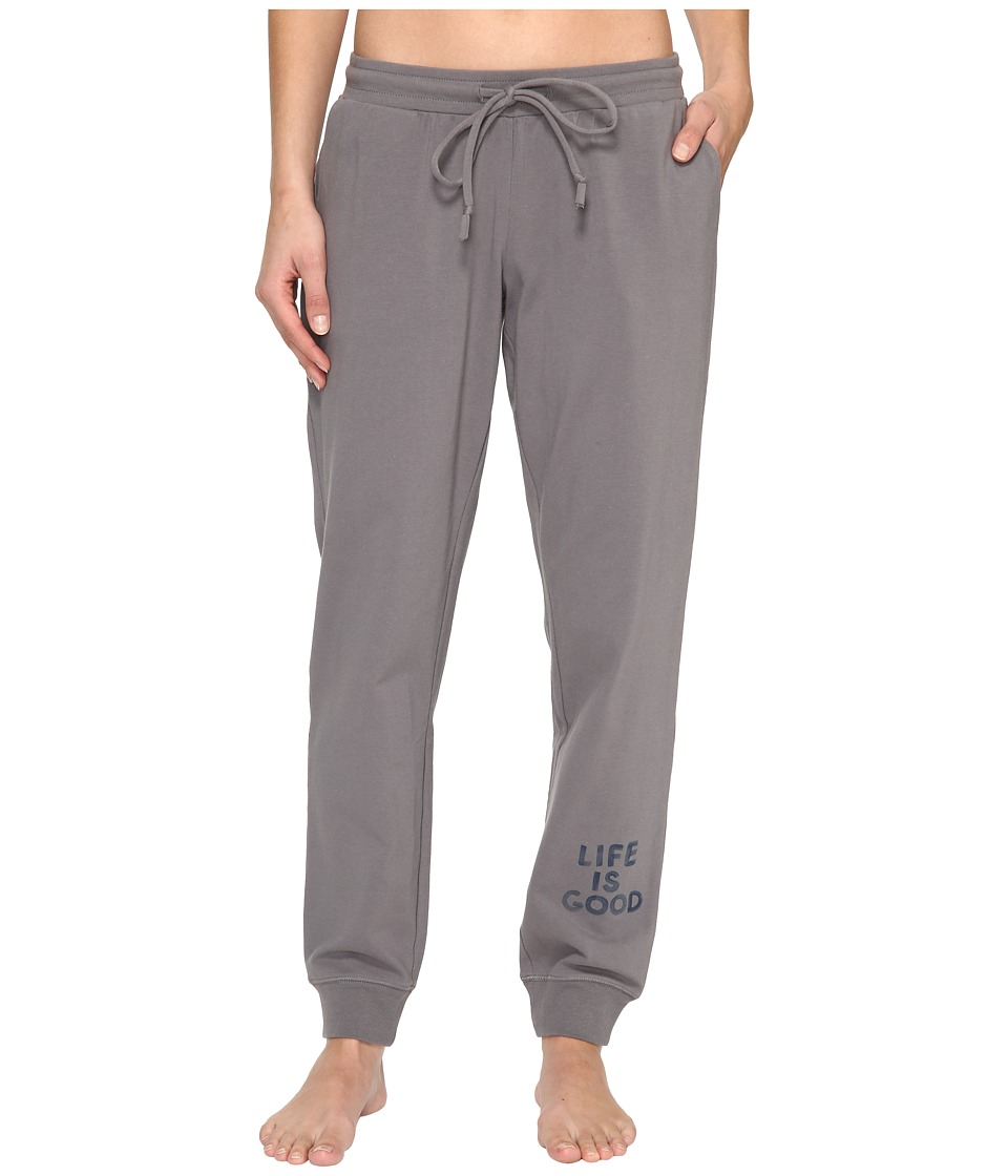 Life is Good - Beachy Jogger (Slate Gray) Women's Casual Pants