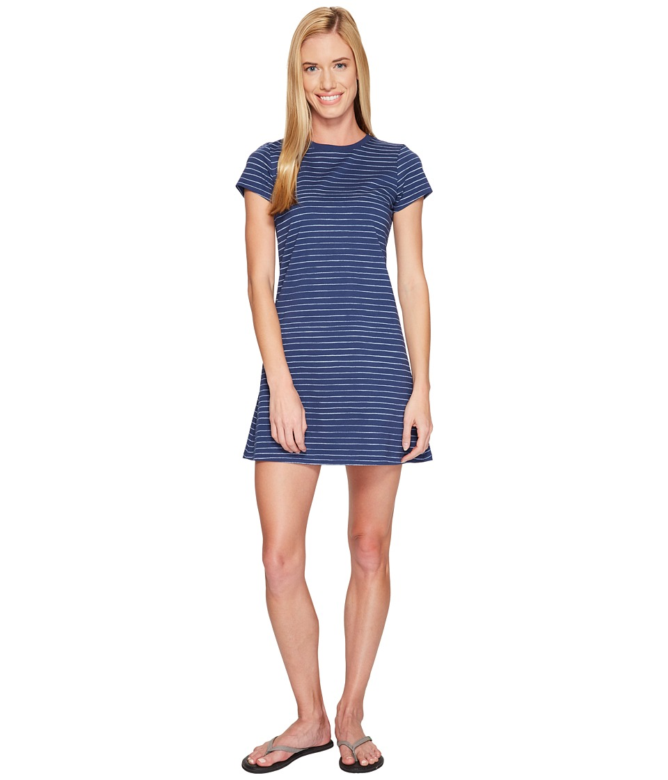 Life is Good - T-Shirt Dress (Darkest Blue) Women's Dress