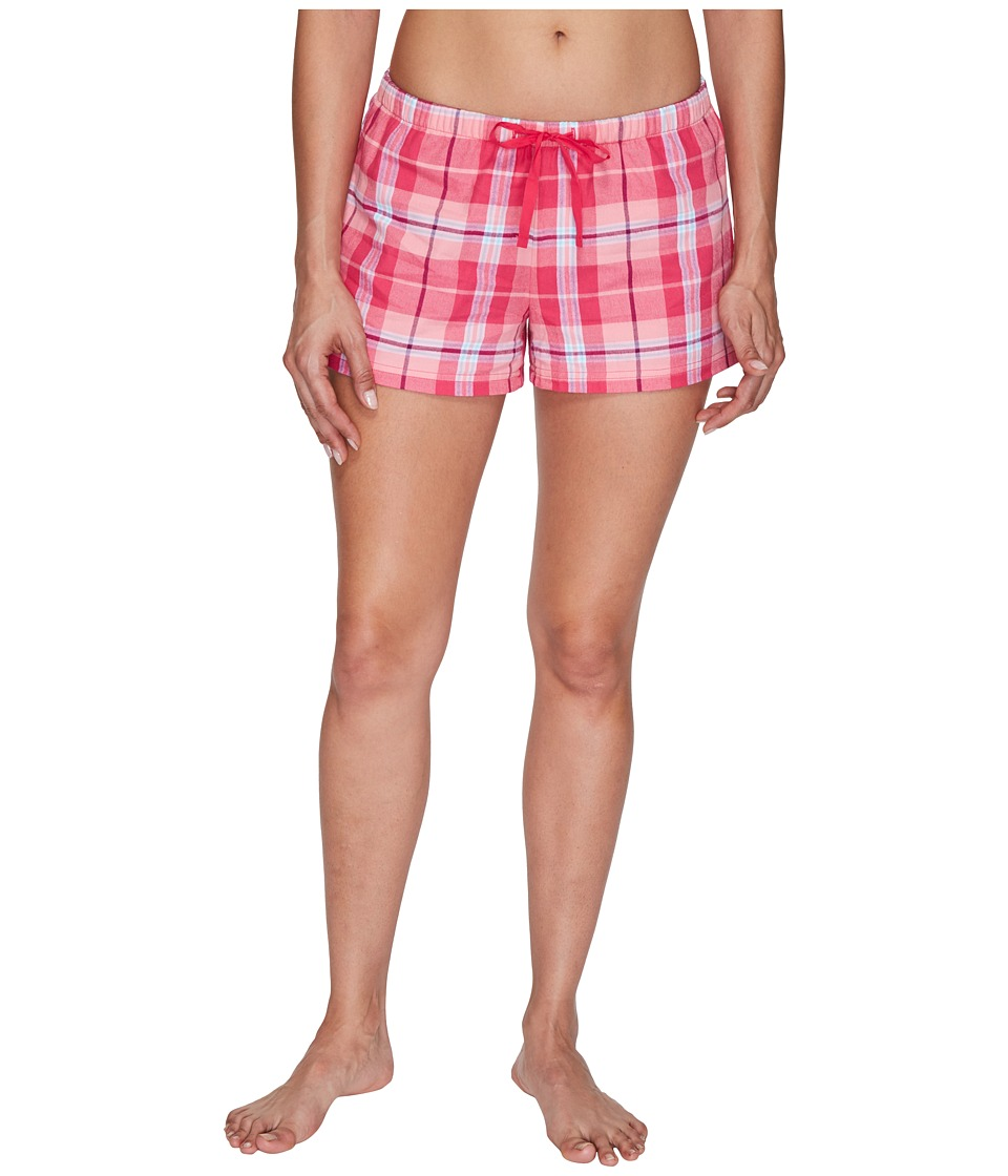 Life is good - Classic Sleep Boxers (Pop Pink) Women's Shorts