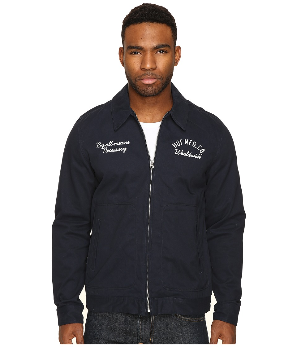 HUF - Mechanic Jacket (Navy) Men's Coat
