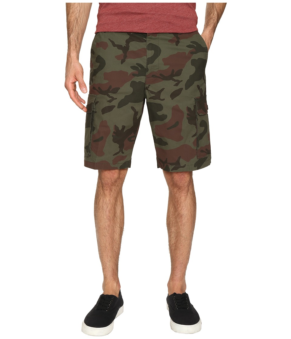 Dockers Men's - Standard Washed Cargo Shorts (Pantego F Good Mermaid) Men's Shorts