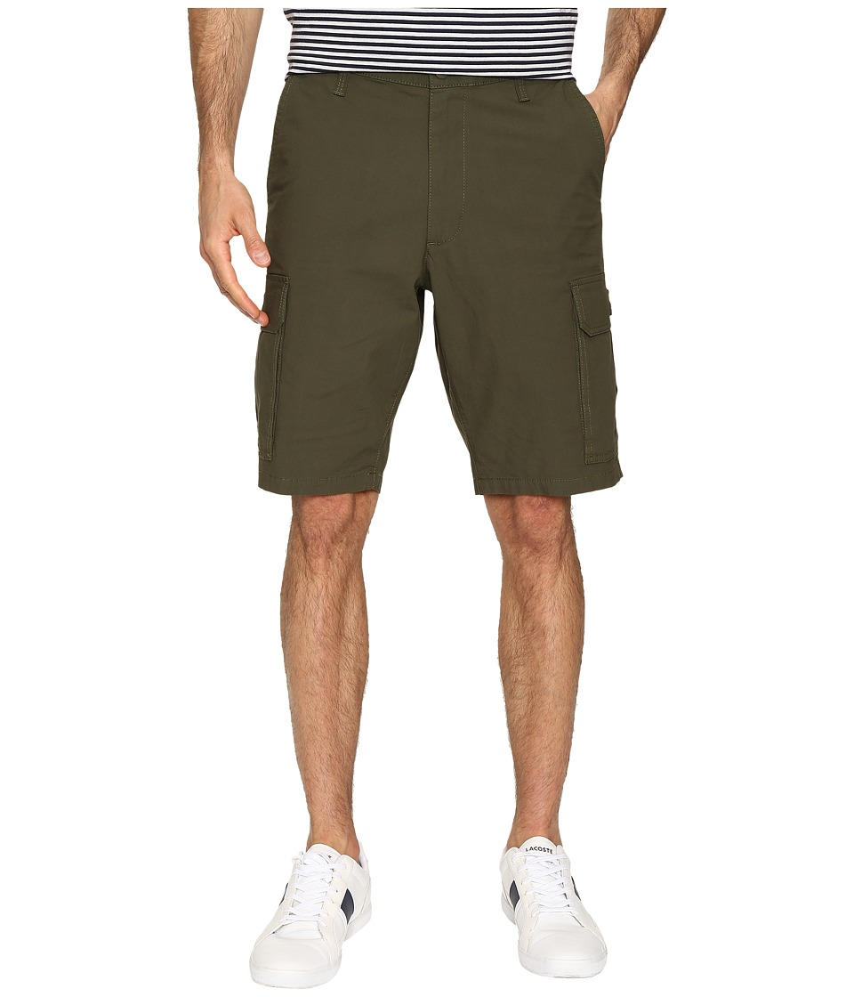 Dockers Men's - Standard Washed Cargo Shorts (Dockers Olive) Men's Shorts