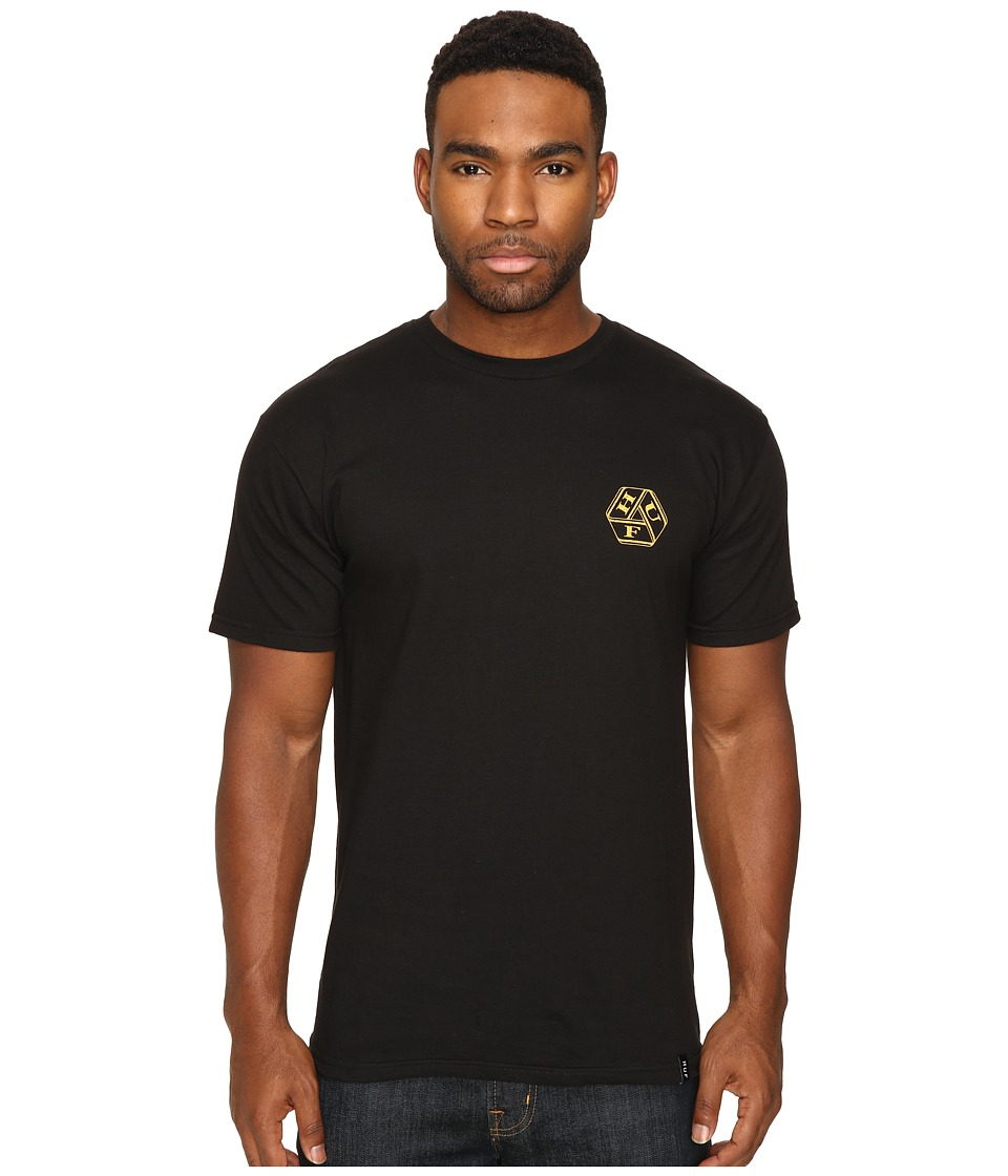 HUF - Beacon Tee (Black) Men's T Shirt