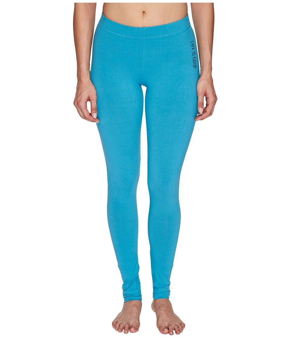 Life is good - Good Night Sleep Legging (Fresh Aqua) Women's Pajama