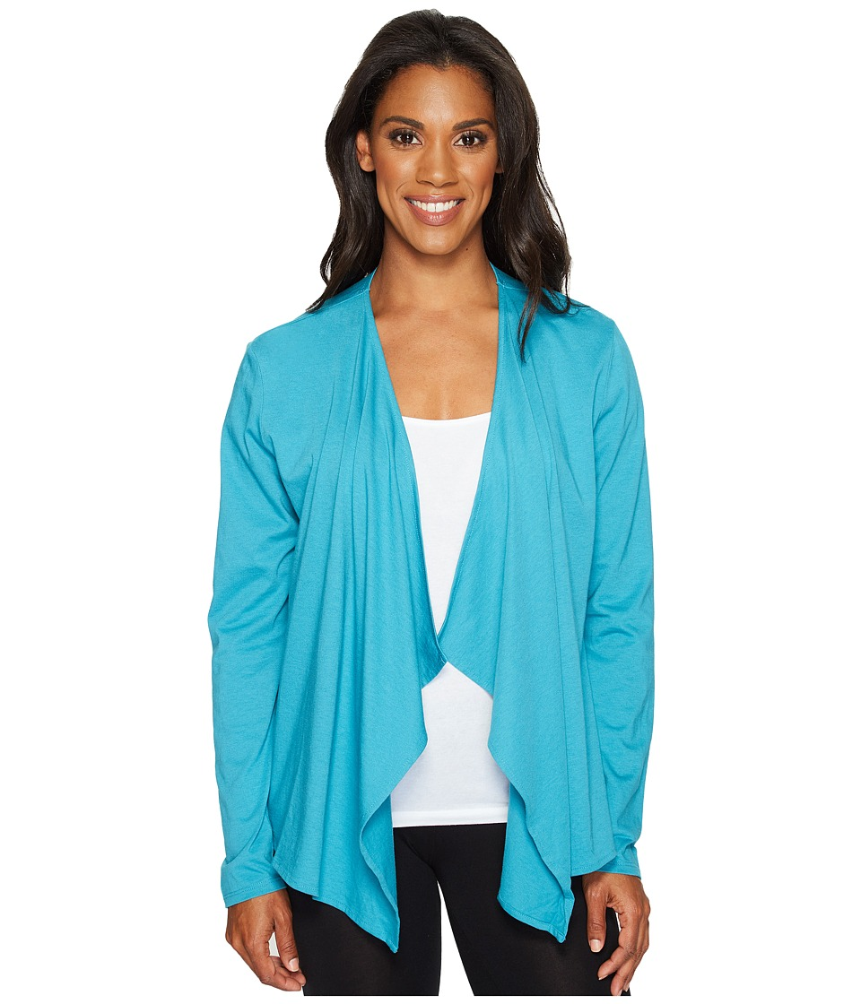 Life is Good - Fly Away Sleep Cardigan (Fresh Aqua) Women's Pajama