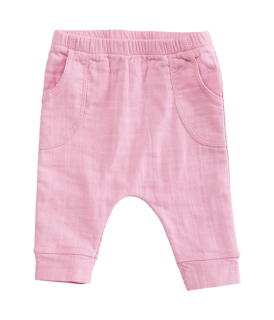 aden + anais - Jogger Pants (Infant) (Pink Mist) Girl's Casual Pants