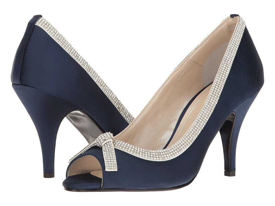 Caparros - Glow (Navy Satin) Women's 1-2 inch heel Shoes