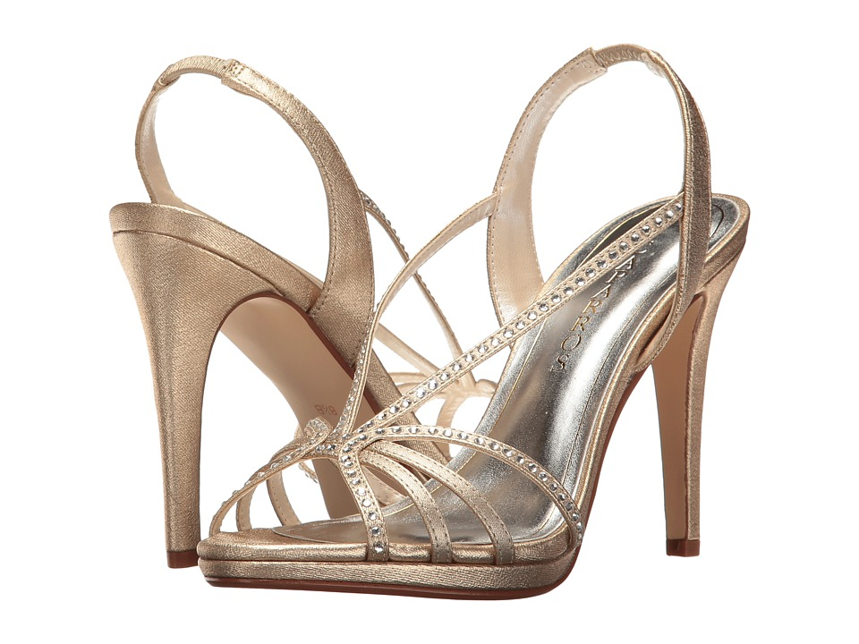 Caparros - Galaxy (Gold Metallic Fabric) High Heels