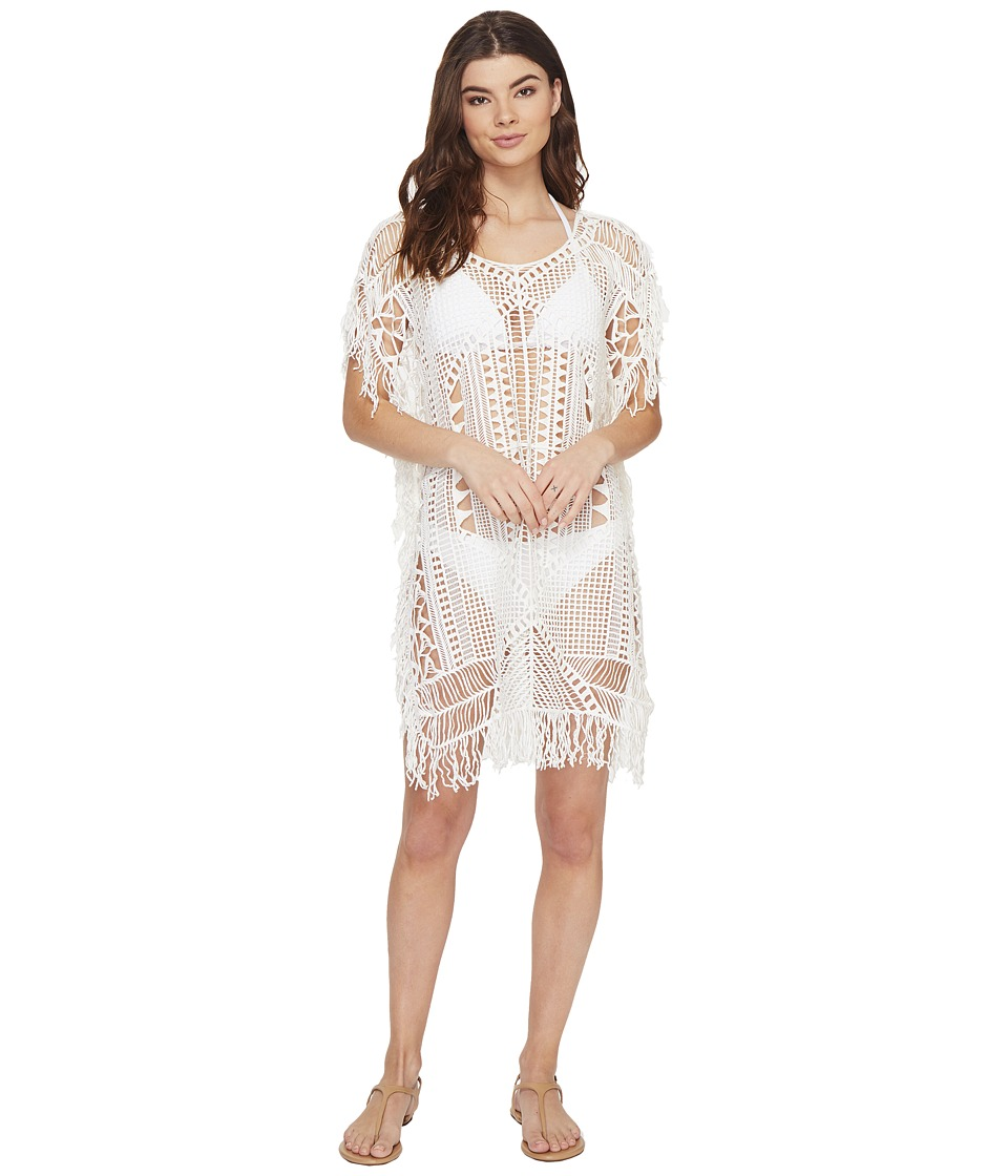 Vitamin A Swimwear - Magic Hour Macrame Tunic Cover-Up (Magic Hour Macrame) Women's Swimwear