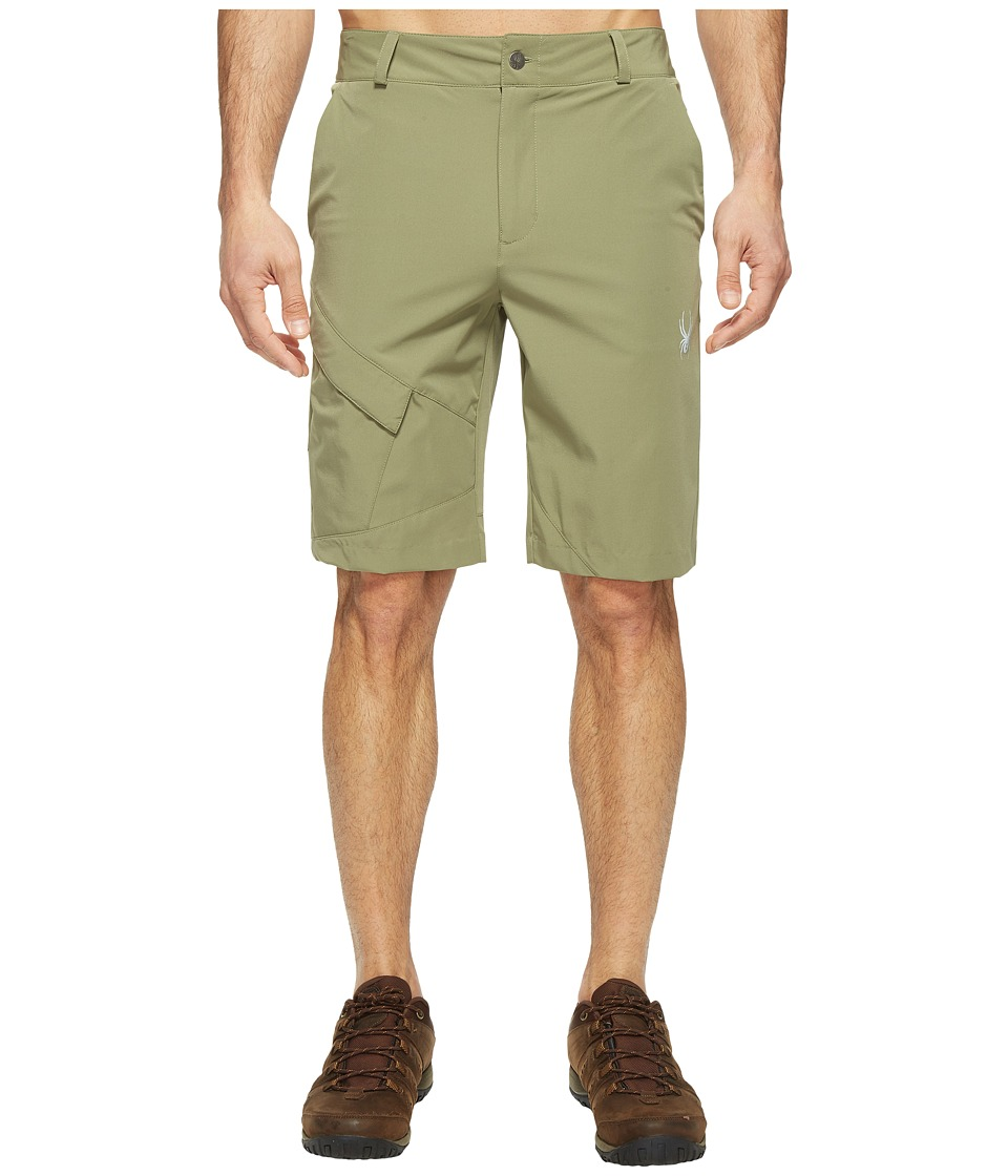Spyder - Centennial Shorts (Deep Lichen Green) Men's Shorts