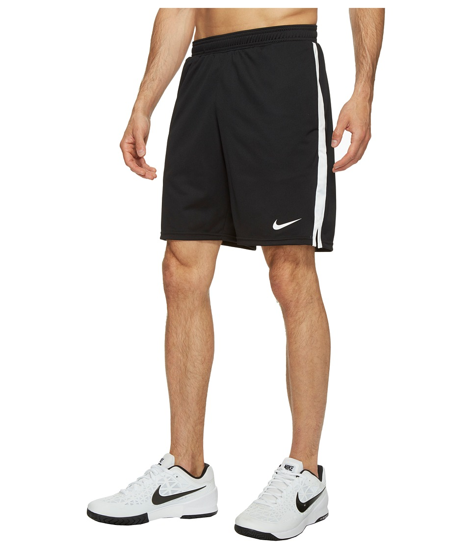 Nike Court Dry 9 Tennis Short (Black/White) Men