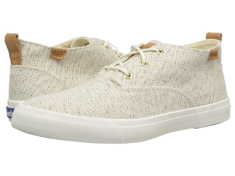 Keds - Triumph Mid Salt Pepper (Cream) Women's Shoes
