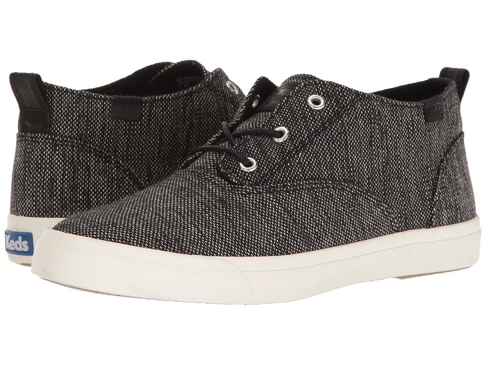 Keds - Triumph Mid Salt Pepper (Black) Women's Shoes