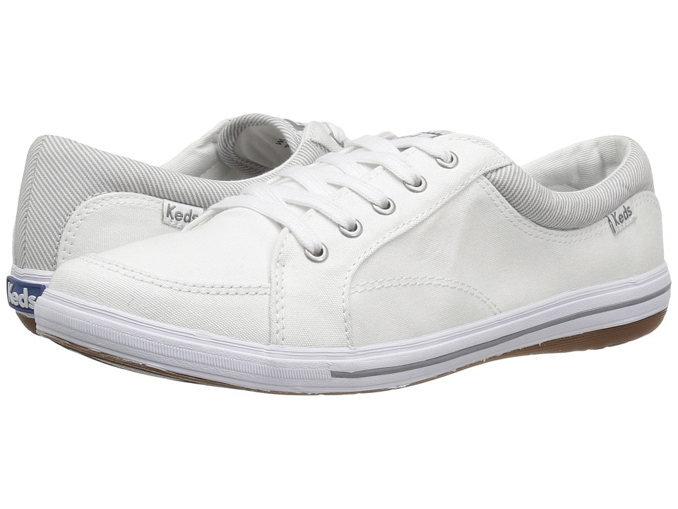 Keds - Vollie Chambray (White) Women's Shoes