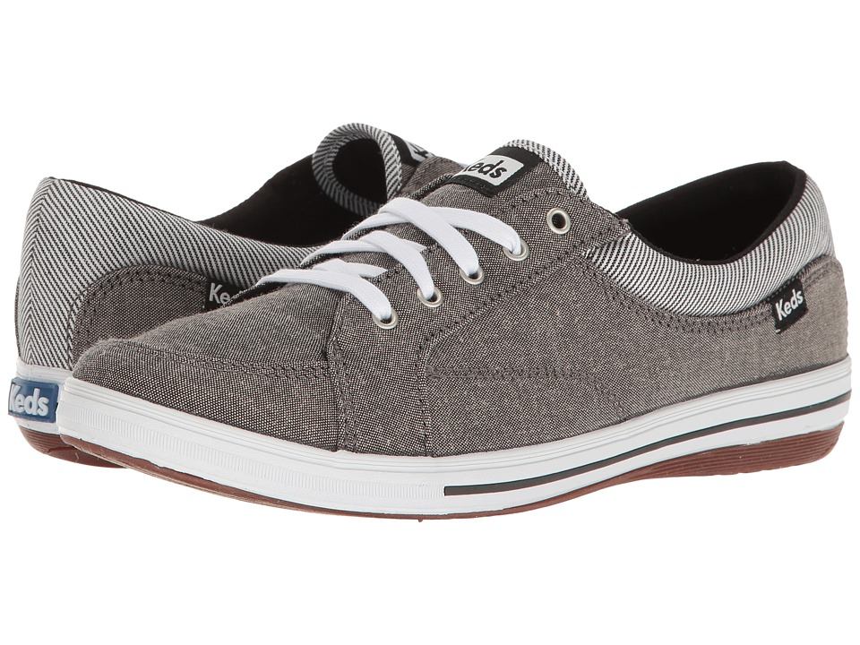 Keds - Vollie Chambray (Light Grey) Women's Shoes