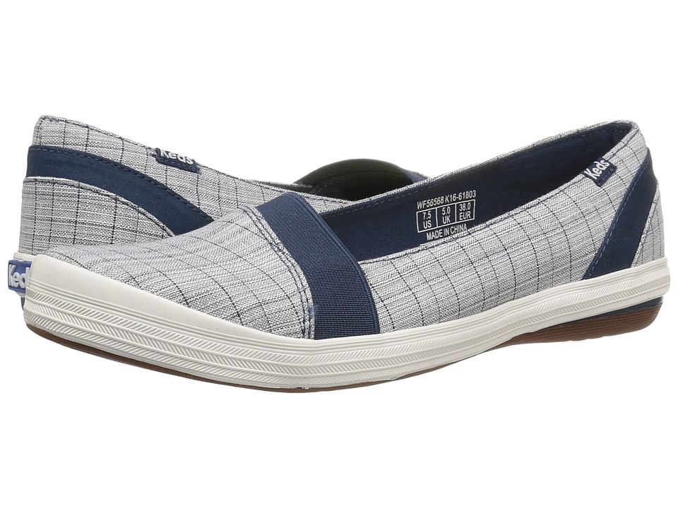 Keds - Cali Sporty Check (Navy) Women's Shoes