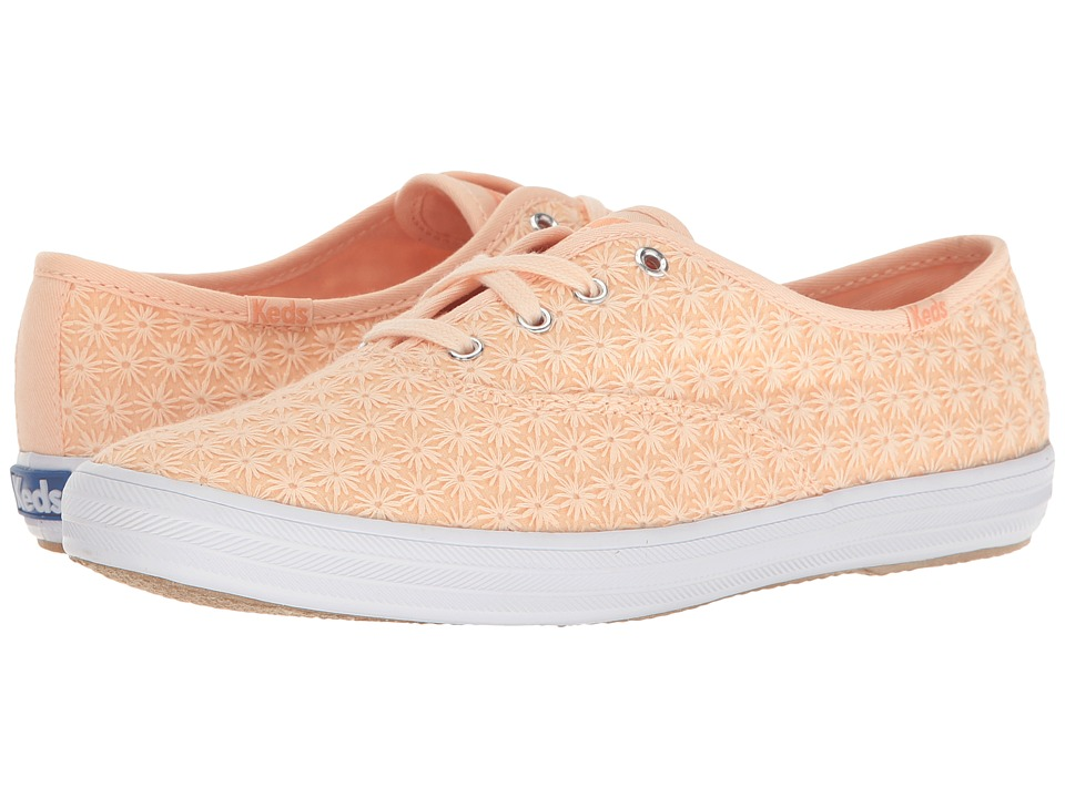 Keds - Champ Mini Daisy (Peach) Women's Shoes