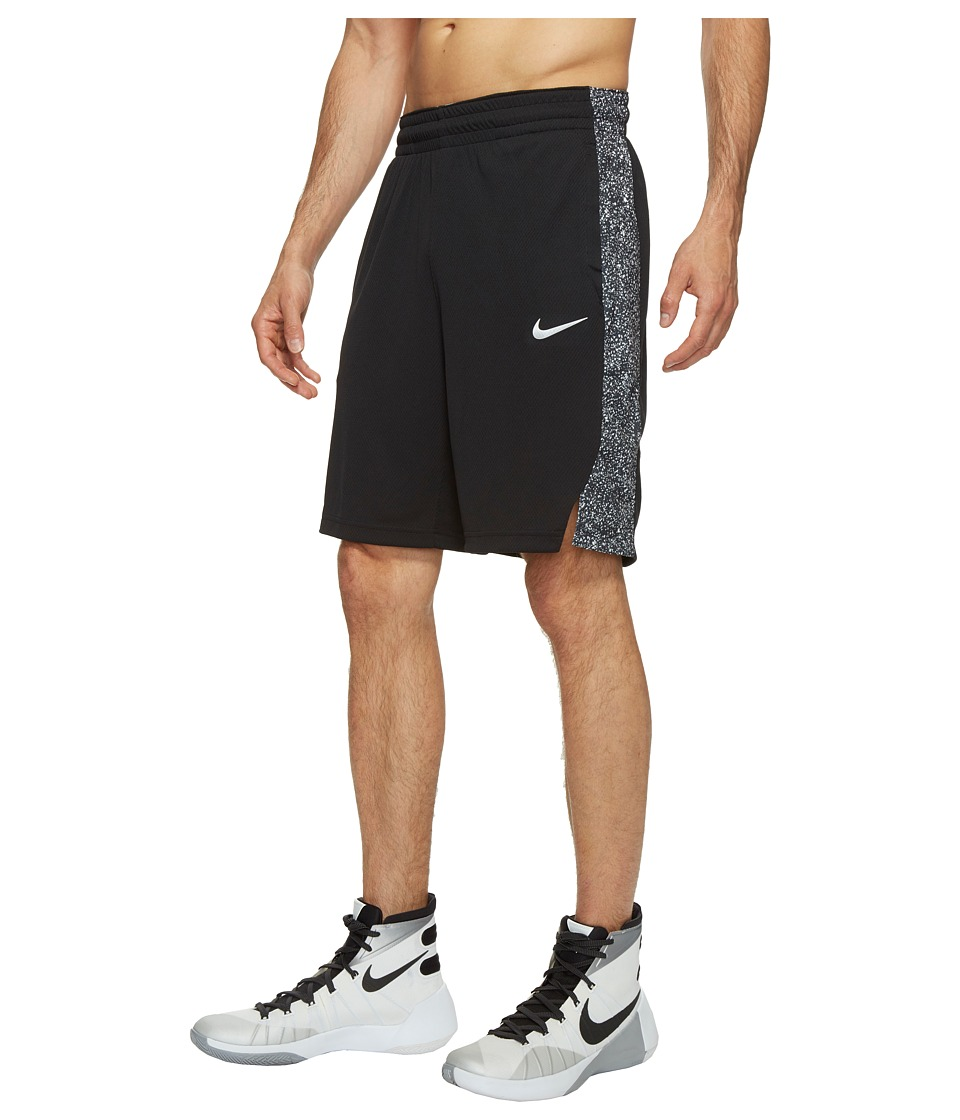 Nike 9 Basketball Short (Black/Black/White/White) Men