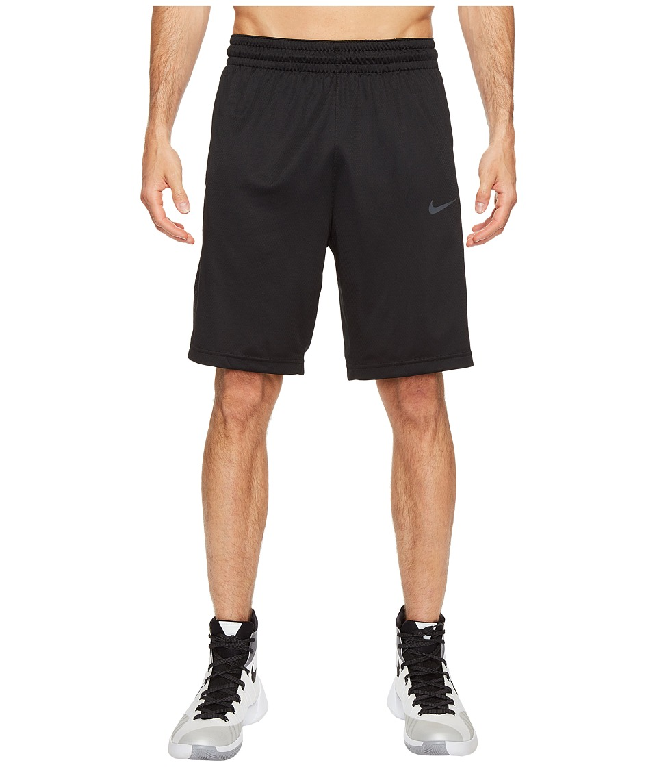 Nike - 3-Point Basketball Short (Black/Black/Anthracite/Anthracite) Men's Shorts
