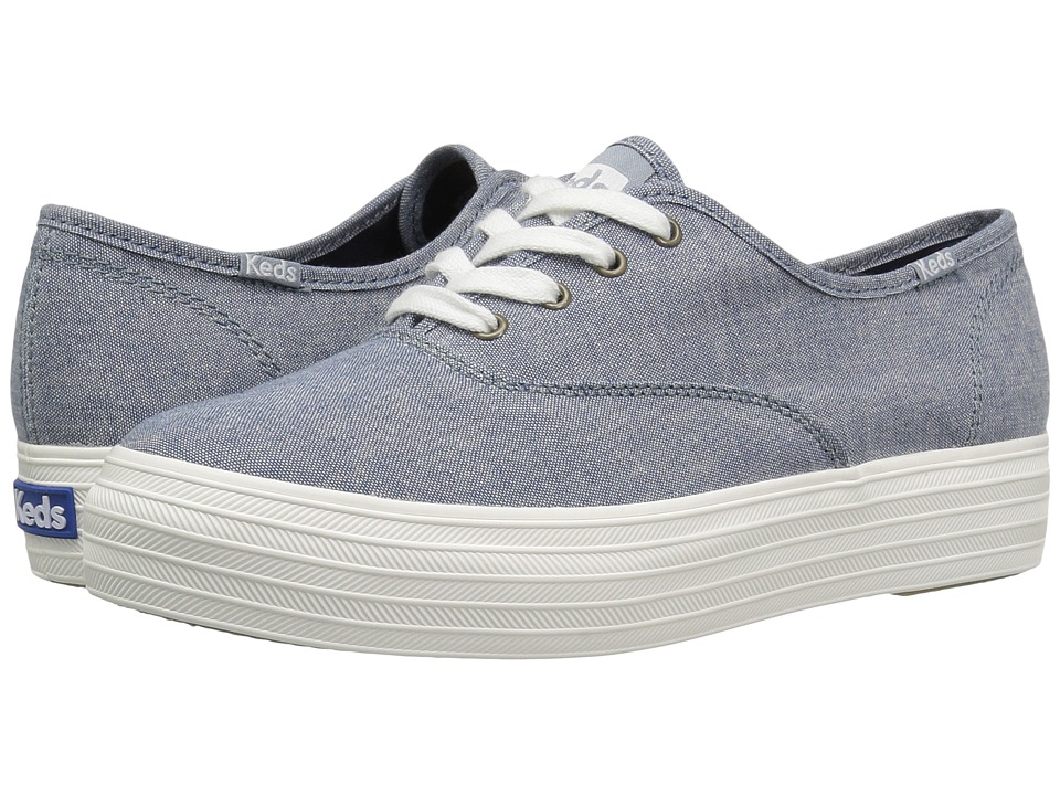 Keds - Triple Canvas (Dark Blue) Women's Shoes