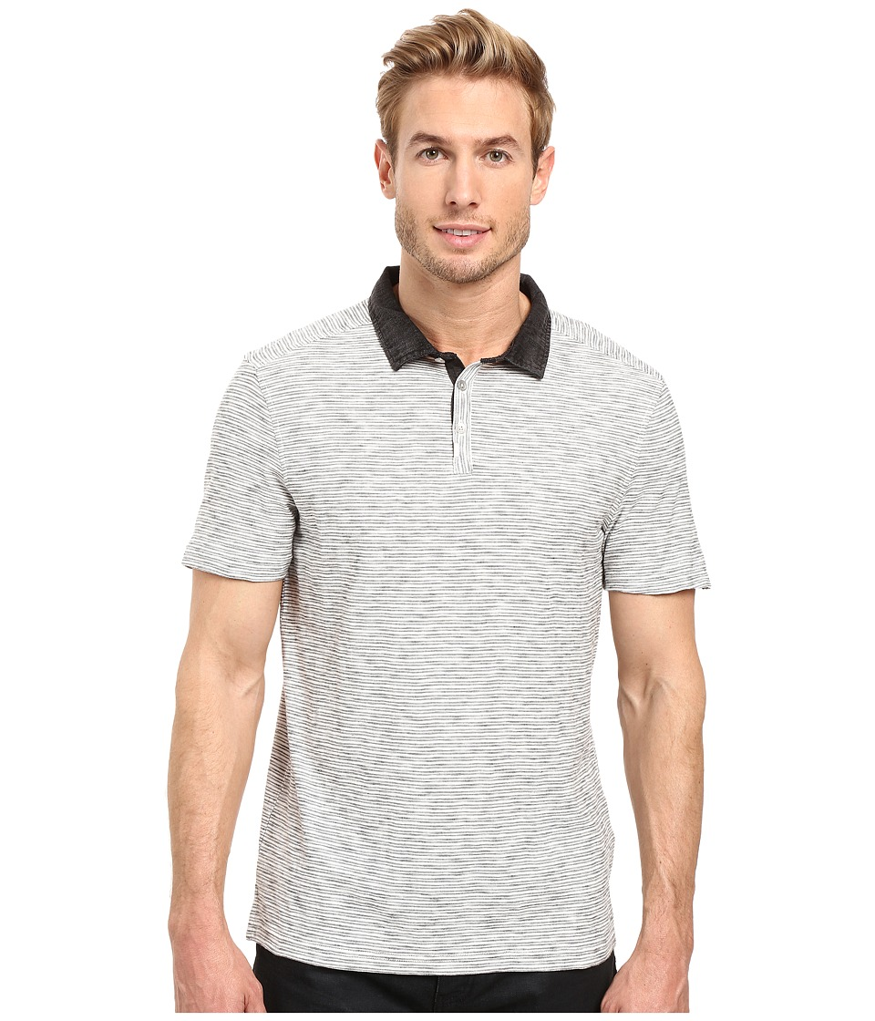 Calvin Klein Jeans - Plaited Stripe Jersey (Natural) Men's Clothing