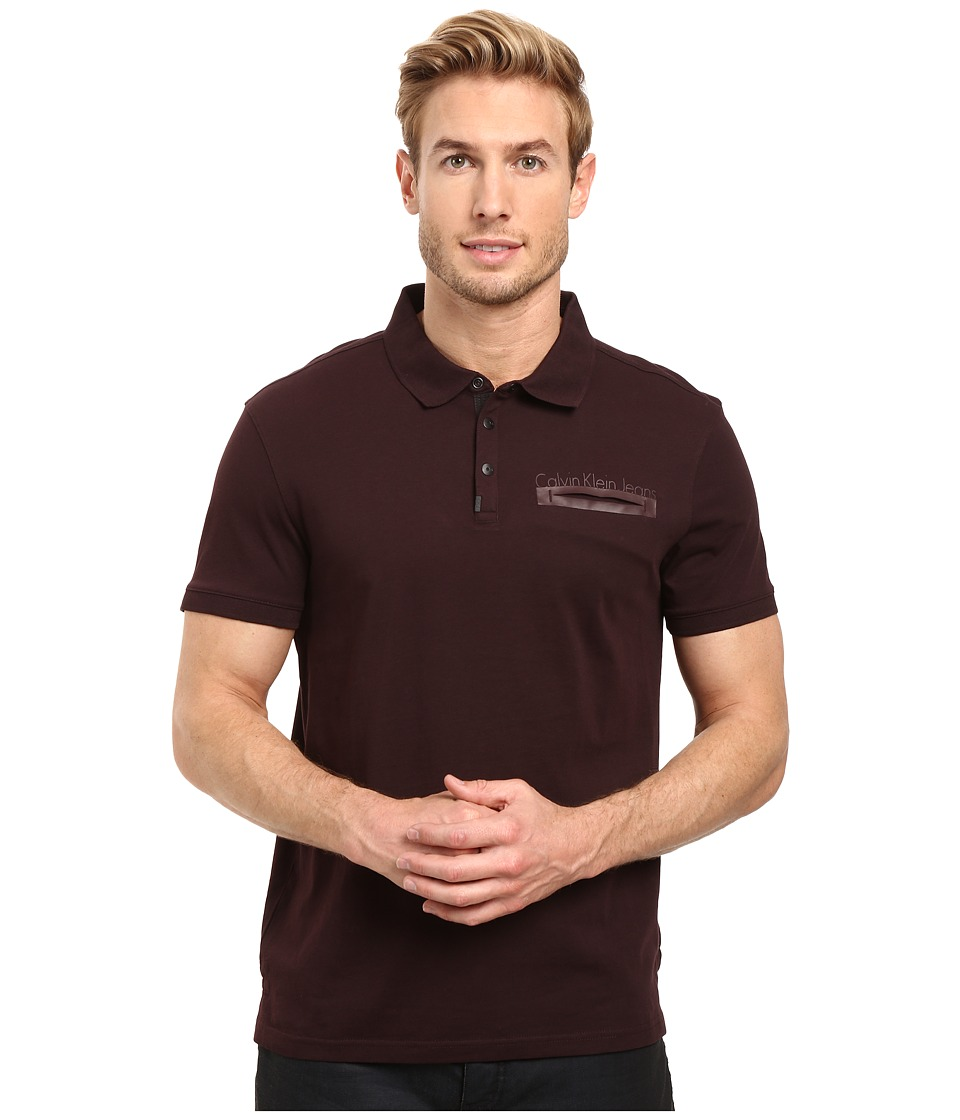 Calvin Klein Jeans - Logo Polo (Legacy) Men's Clothing