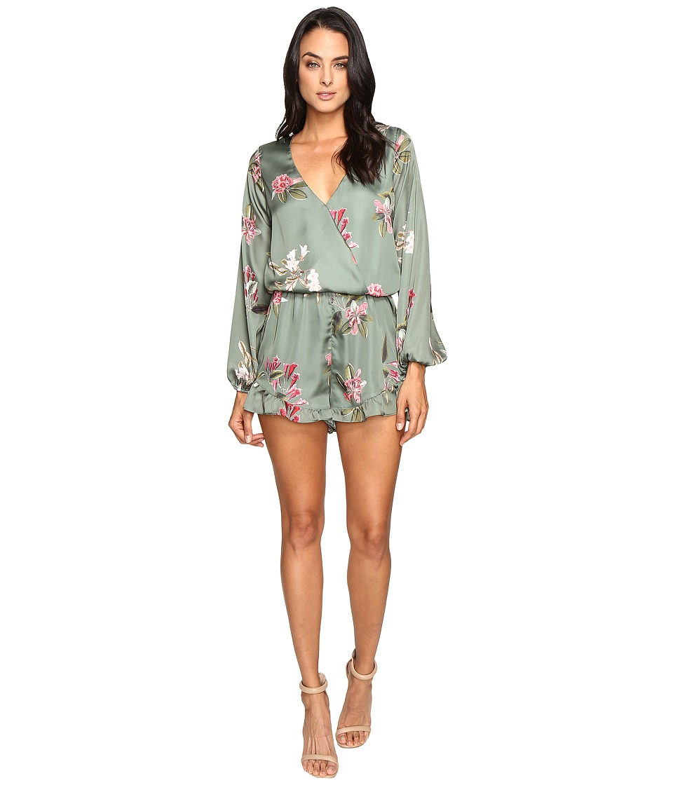 Show Me Your Mumu - Rocky Romper (Laura Flora) Women's Jumpsuit & Rompers One Piece