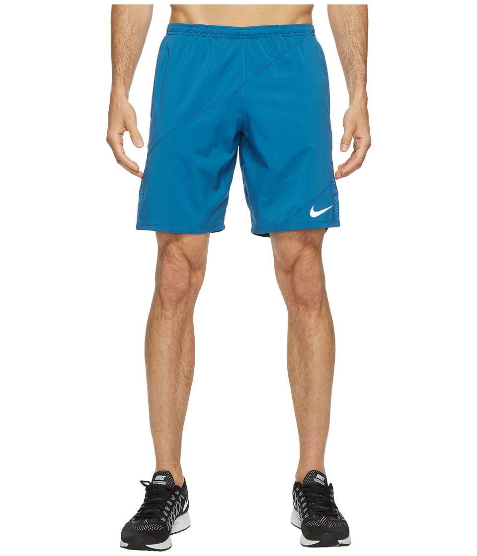 Nike - Flex 9 Running Short (Industrial Blue/Industrial Blue) Men's Shorts