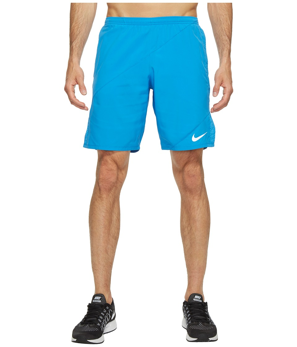 Nike - Flex 9 Running Short (Light Photo Blue/Light Photo Blue) Men's Shorts