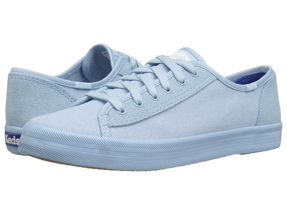 Keds - Kickstart Retro Court Mono (Blue) Women's Lace up casual Shoes