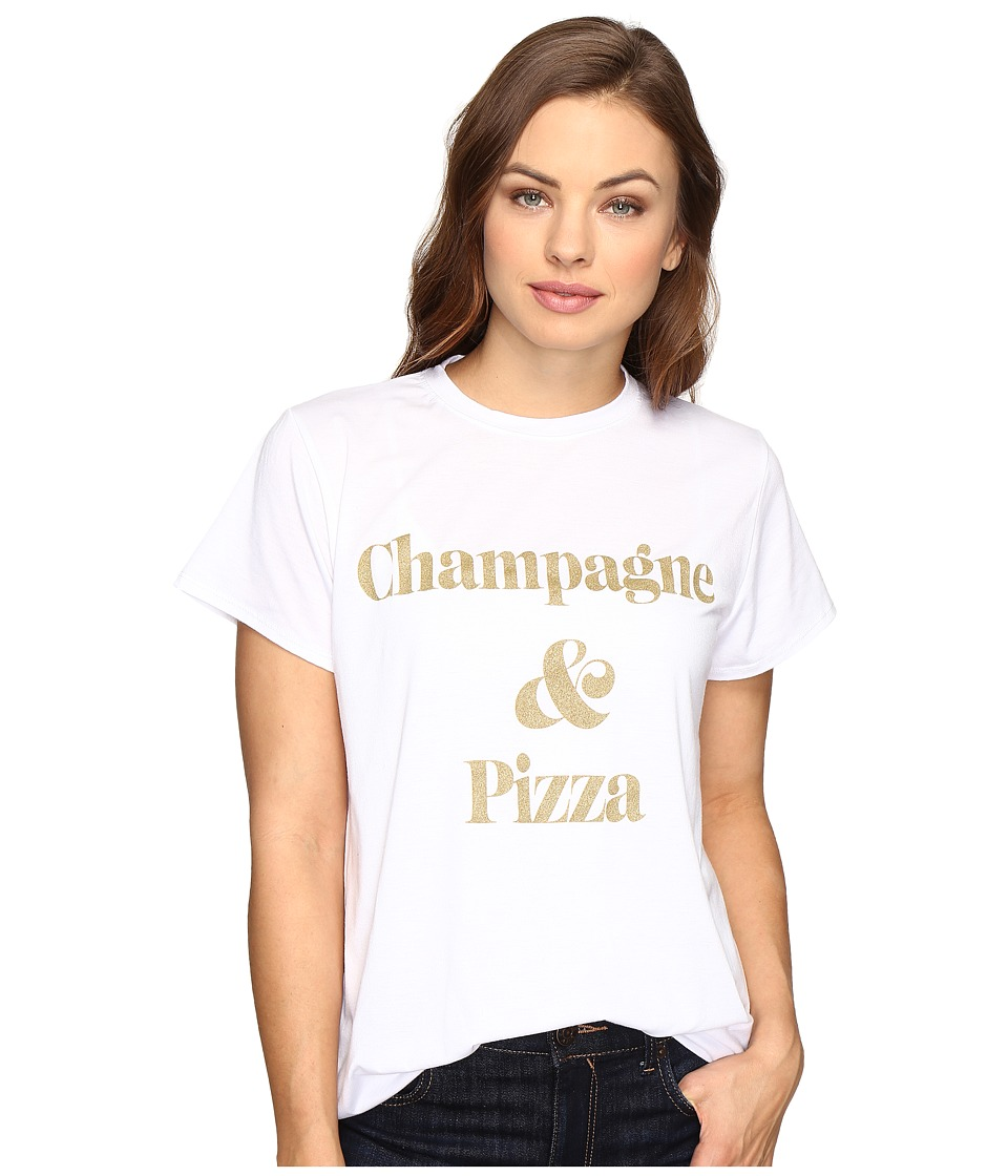Show Me Your Mumu - Oliver Tee (Champagne/Pizza) Women's T Shirt
