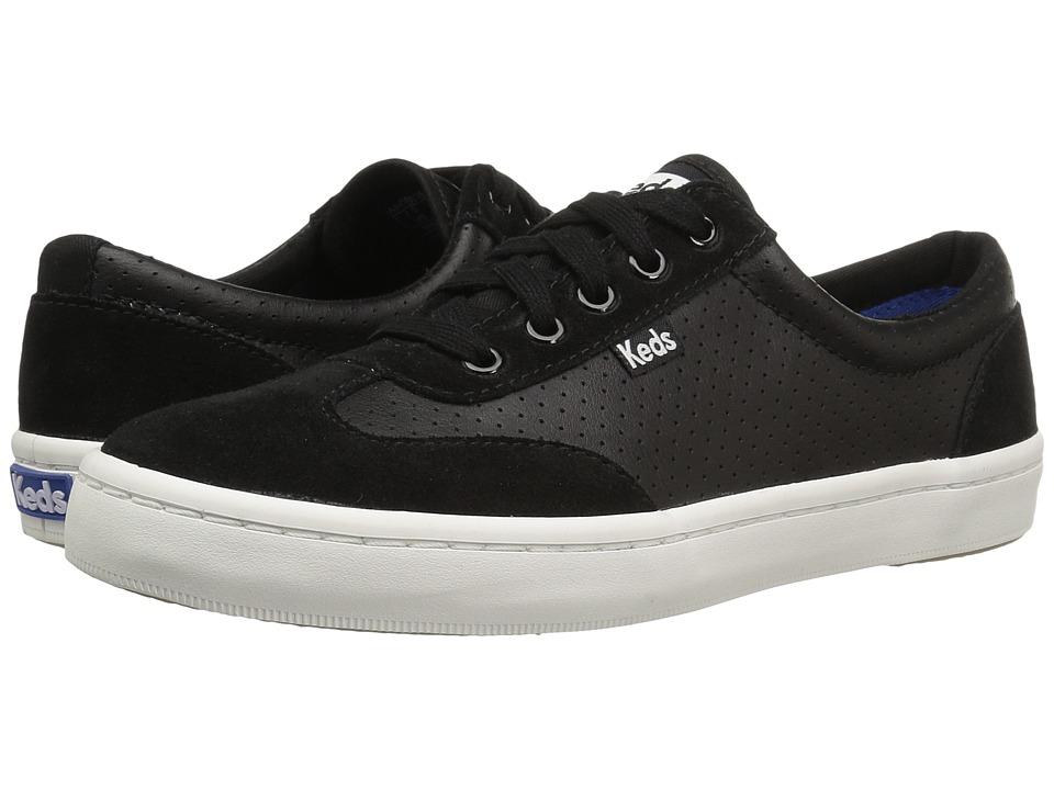 Keds - Tournament Retro Perf (Black) Women's Shoes