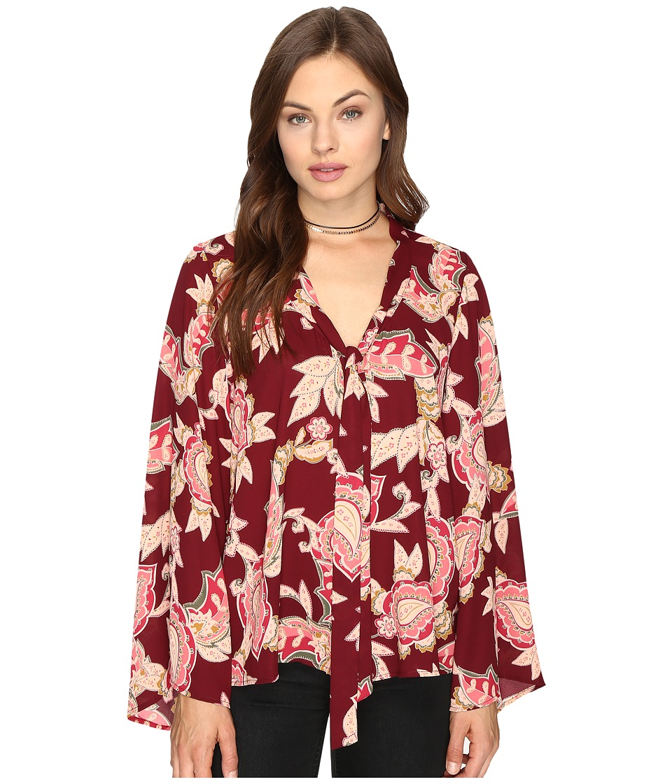 Show Me Your Mumu - Brynn Blouse (Vino Vine) Women's Blouse