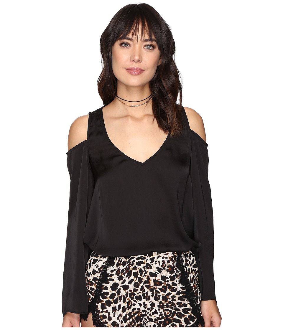 Show Me Your Mumu - Shoulder Boo Tunic (Black) Women's Blouse