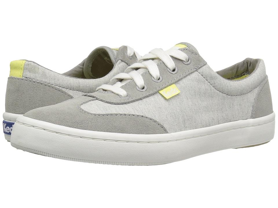 Keds - Tournament Retro Textile/Suede (Grey) Women's Shoes