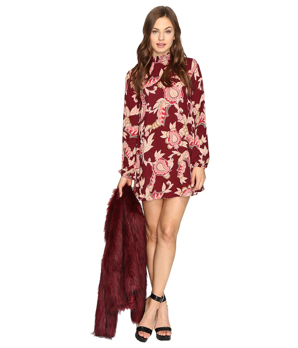 Show Me Your Mumu - Junebug Bell Dress (Vino Vine) Women's Dress