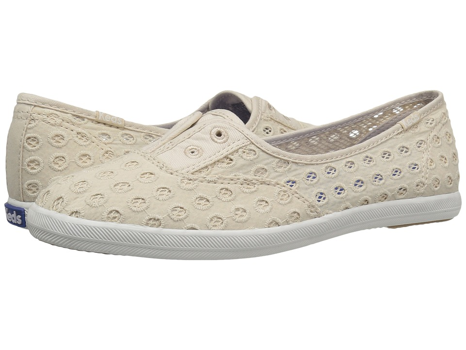 Keds - Chillax Mini Eyelet (Natural) Women's Shoes