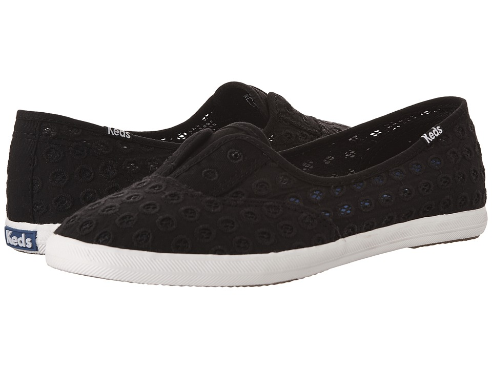 Keds - Chillax Mini Eyelet (Black) Women's Shoes