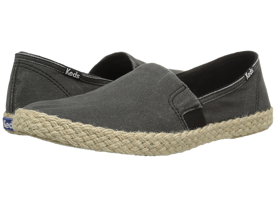 Keds Chillax A-Line Jute (Black) Women