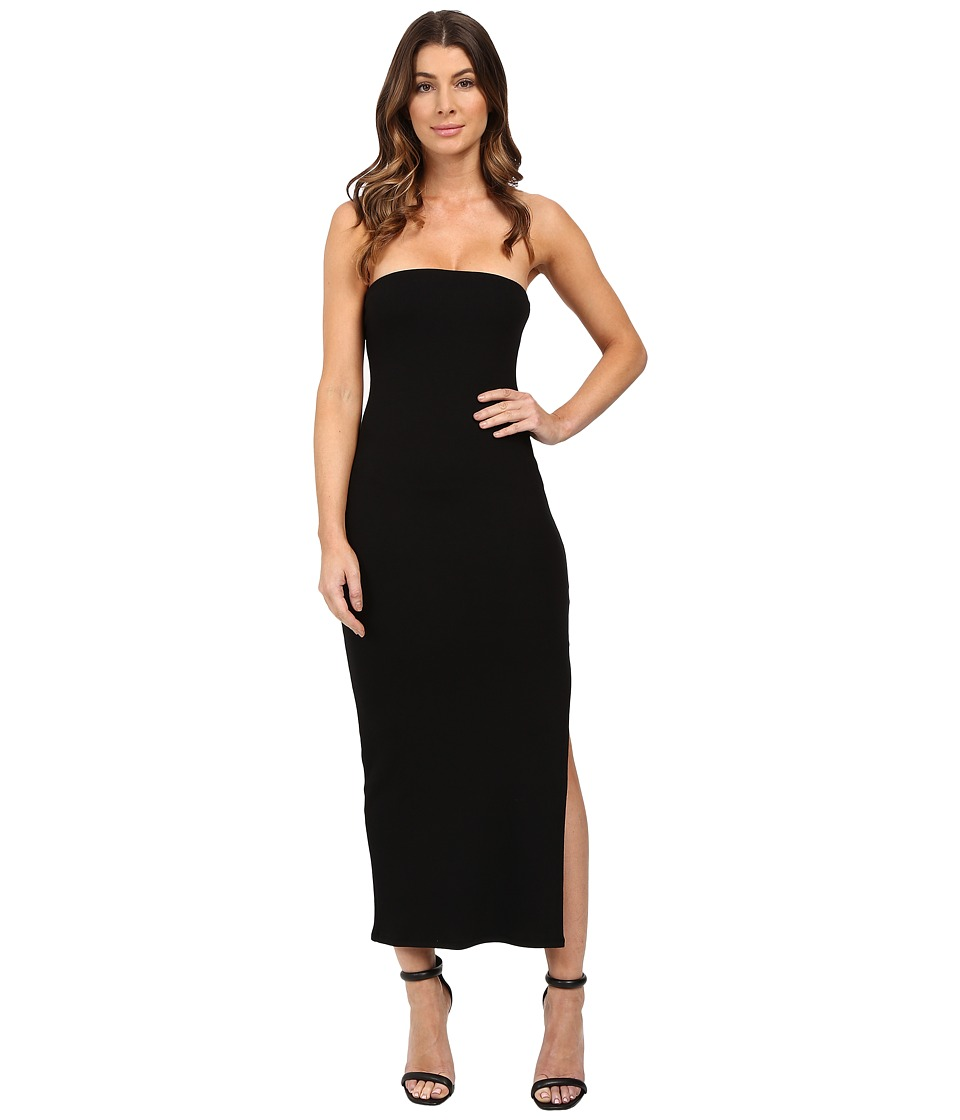Rachel Pally - Luxe Rib Bobbi Dress (Black) Women's Dress