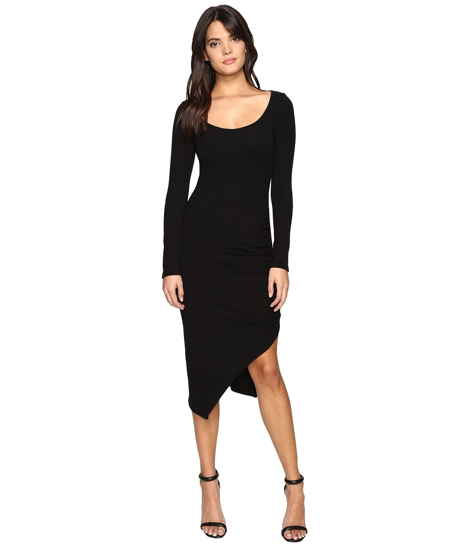 Rachel Pally Luxe Rib Faustina Dress (Black) Women