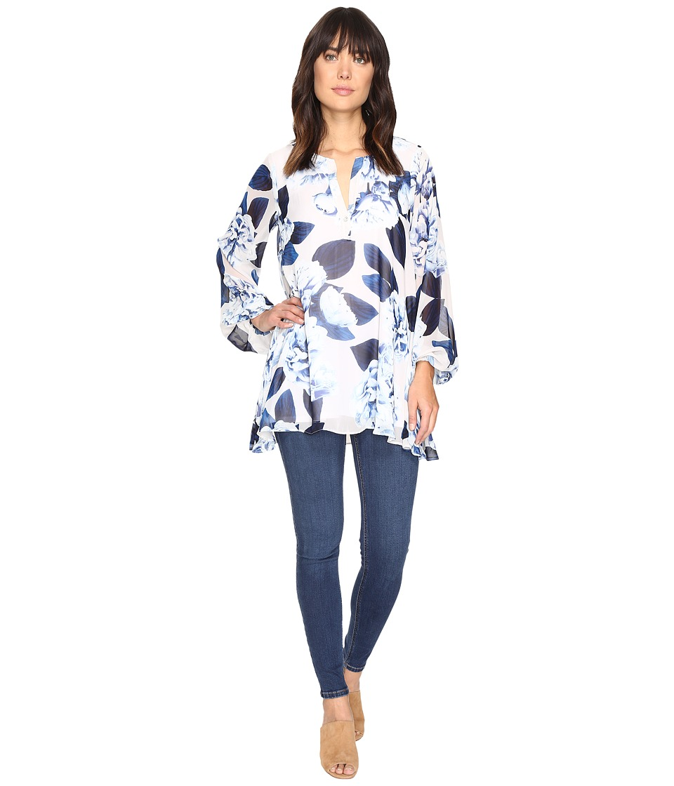 Show Me Your Mumu - Jamie Tunic (Bouquet Blue) Women's Blouse
