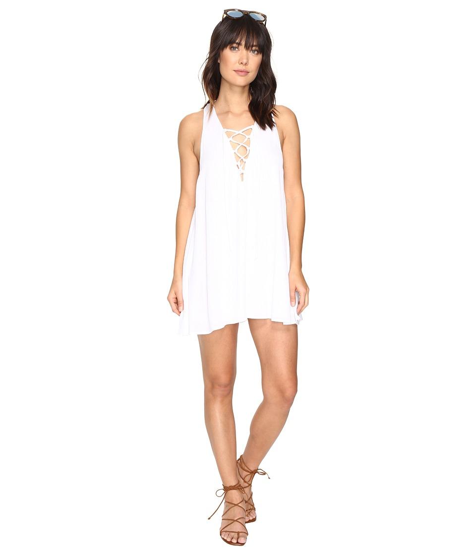 Show Me Your Mumu - Rancho Mirage Tunic Dress (White Cloud) Women's Dress