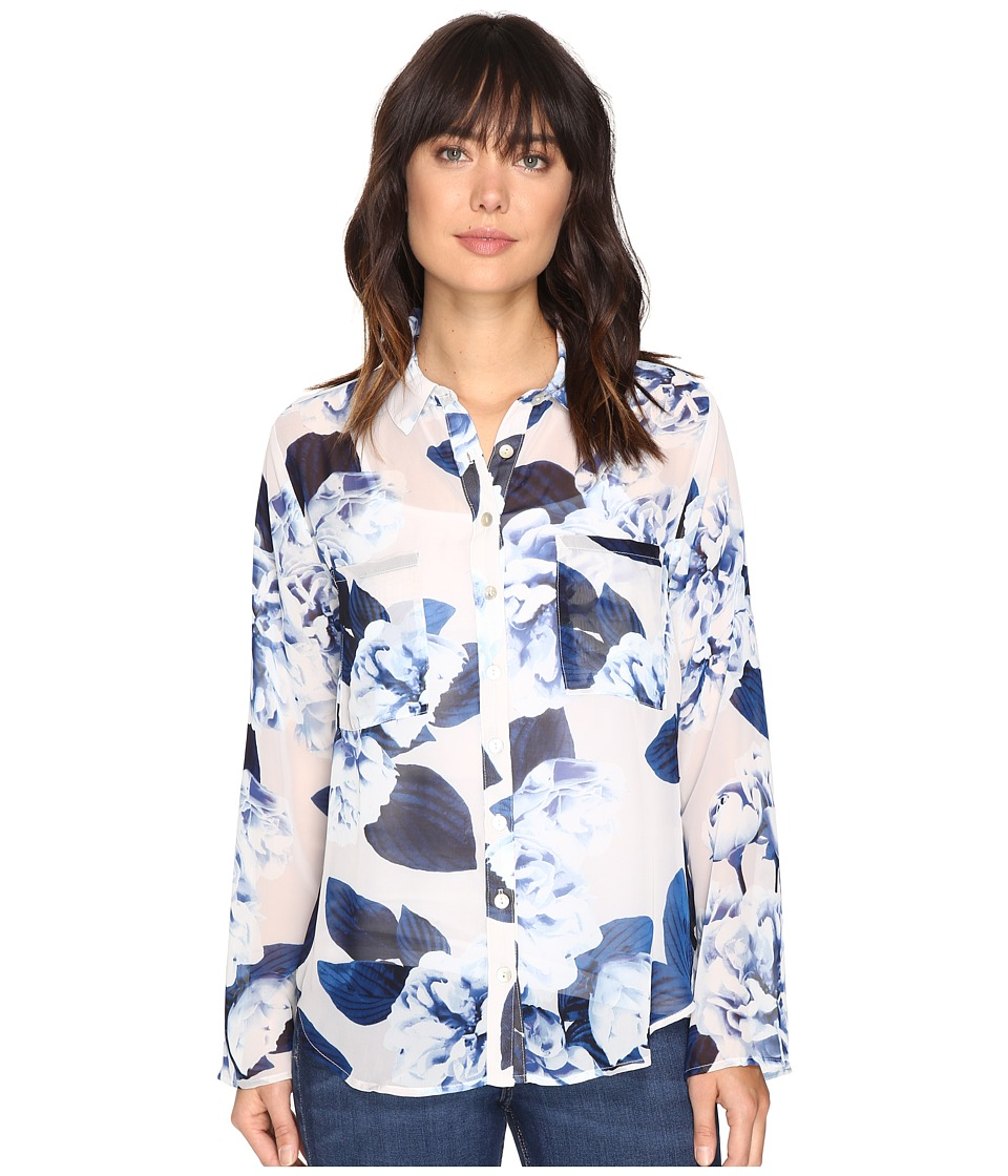 Show Me Your Mumu - Murphy Top (Boquet Blue) Women's Clothing