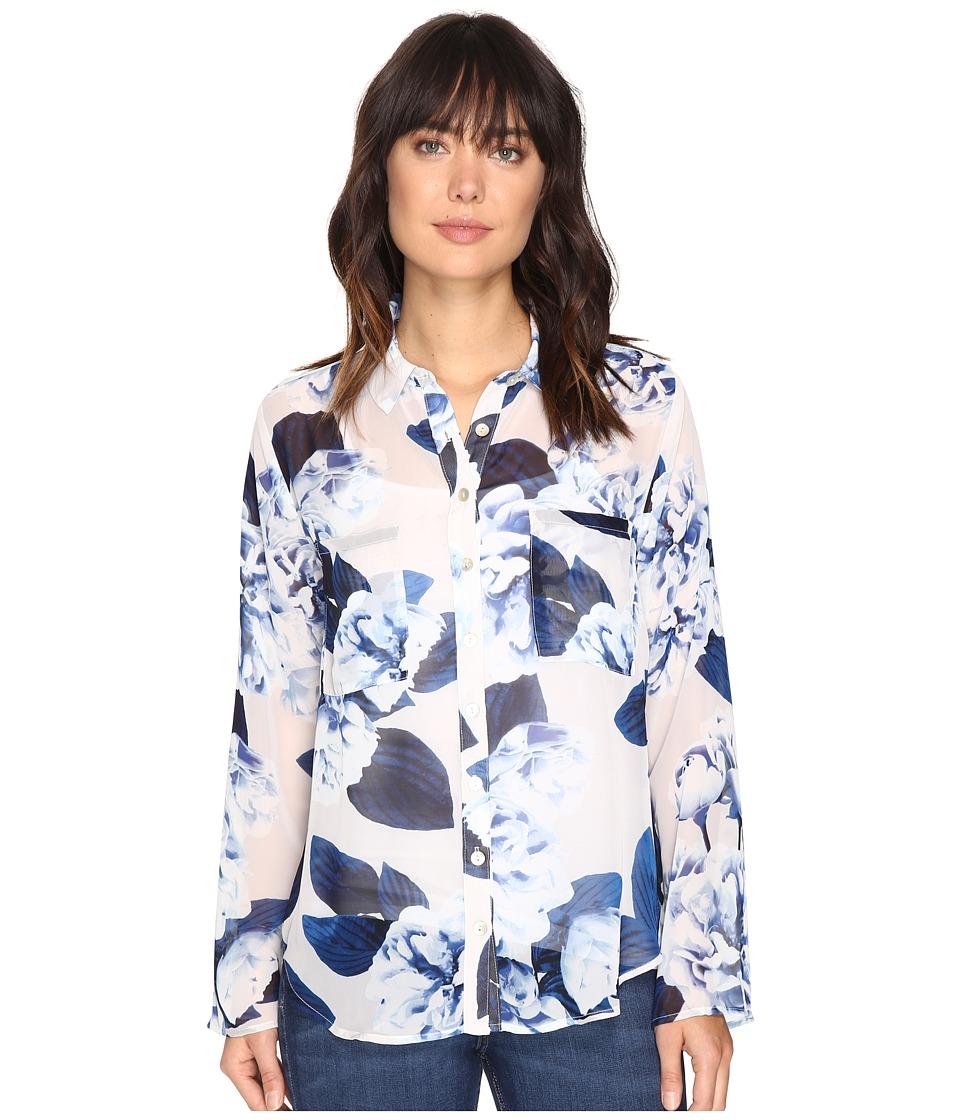Show Me Your Mumu - Murphy Top (Boquet Blue) Women's Clothing